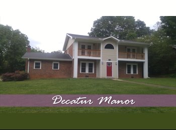 EasyRoommate US - Decatur Manor -- One of the Largest Homes in Metro Atlanta, furnished, w/ pool table,   entertainmen, Candler-McAfee - $700 pm