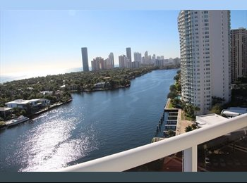 EasyRoommate US - Upscale Apartment with Amazing Views in Aventura to Share , Aventura - $1,350 pm