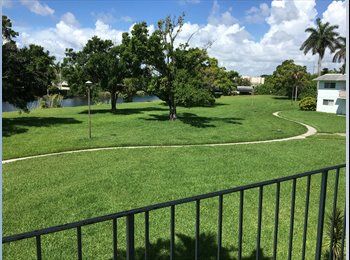 EasyRoommate US - == Furnished 1/1 Condo w/ All Utilities = Monthly = Dadeland- UM -15 Mins South beach, Glenvar Heights - $1,395 pm