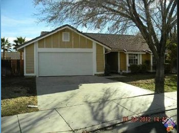 EasyRoommate US - room for rent in house , Palmdale - $650 pm