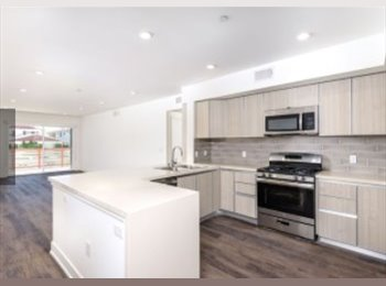 EasyRoommate US - AMAZING bedroom, brand new apartment complex, WEST SIDE, Sawtelle Japantown - $1,350 pm
