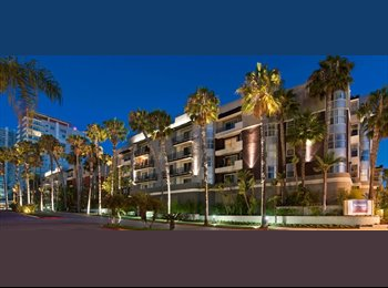 EasyRoommate US - Shared BED/BATH in a 2b/2b apt! FEMALES ONLY, Marina del Rey - $1,000 pm