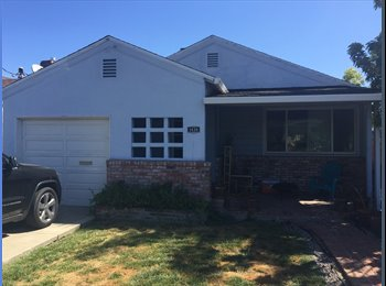 EasyRoommate US - 2 Roomies Looking for 3rd Roomie in San Carlos home!, Redwood City - $1,400 pm