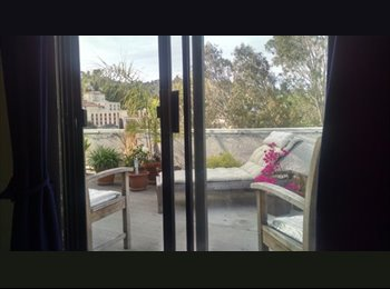 EasyRoommate US -  $1000 Furnished room/loft + deck in 2 level Hollywood penthouse (Hollywood), Hollywood Heights - $1,000 pm