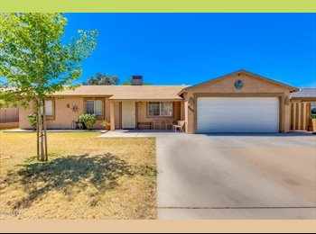 EasyRoommate US - So many upgrades in this 3 bedroom/ 2 bath with a great open floorplan. Kitchen features island with, Maryvale Village - $800 pm