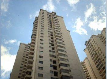 CompartoApto VE -  Se alquila una habitación amoblada a Dama en Bellas Artes, Caracas, Caracas - BsF 70.000 por mes