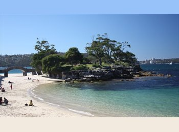 EasyRoommate AU - ***SINGLE ROOM*MOSMAN-5km FROMCITY and walk to beach, Crows Nest - $250 pw