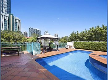 EasyRoommate AU - Massive ensuite room in Surfers Paradise!, Gold Coast - $300 pw