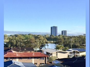 EasyRoommate AU - Room for rent in sunny creek-side apartment in Currumbin, Coolangatta - $185 pw