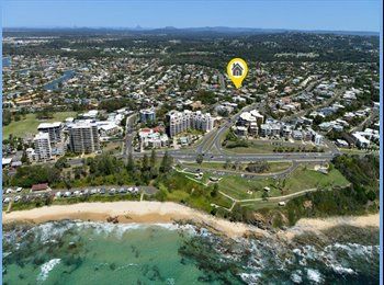 EasyRoommate AU - Large Double room to rent in great location 5min walk from the beach, Sunshine Coast - $190 pw