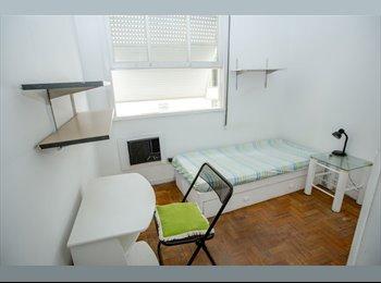 EasyQuarto BR - Tenho um quarto individual em Ipanema, perto do me, Ipanema - R$ 1.900 Por mês