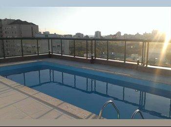 EasyQuarto BR - Quarto casal NOVO, ótima localização, c/AR, Porto Alegre - R$ 1.349 Por mês