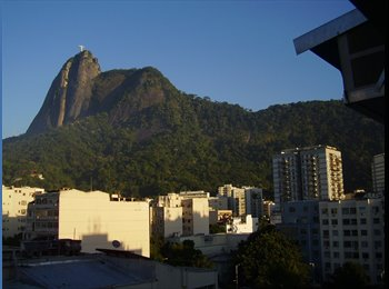 EasyQuarto BR - Quarto em Botafogo, Humaitá - R$ 1.280 Por mês