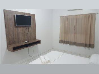EasyQuarto BR - Quartos mobiliado, Cuiabá - R$ 600 Por mês