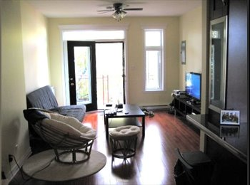 EasyRoommate CA - ROOM TO SUBLET IN THE PLATEAU, Montréal - $650 pcm