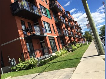 EasyRoommate CA - Brand new apartment rooms for rent, near Viau Station, Montréal - $650 pcm