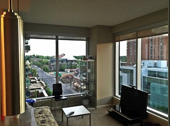 EasyRoommate CA - BEAUTIFUL DOWNTOWN CORNER SUITE CONDO BY STAMPEDE GROUNDS !!!, Calgary - $1,100 pcm
