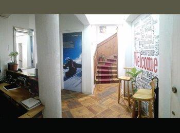 CompartoDepto CL - Habitaciones Amobladas, 1 y 2 plazas, todo incluído, Ñuñoa - CH$ 250.000 por mes