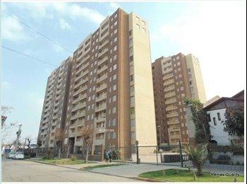 CompartoDepto CL - Habitación para dama en Estación Central, Estacion Central - CH$ 160.000 por mes
