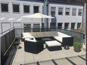EasyWG DE - Helles, modernes 20m2 Zimmer (möbliert oder unmöbliert nach Wunsch) in Studenten-WG im Herzen von Nü, Nürnberg - 590 € pm