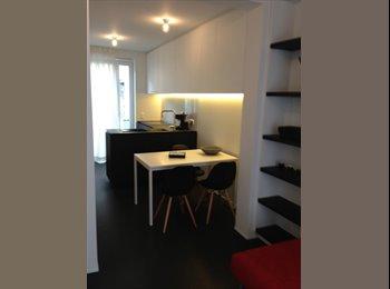 EasyKot EK - SHORT TERM  RENTAL : Beautiful studio center Ghent., Gent-Gand - € 1.050 p.m.