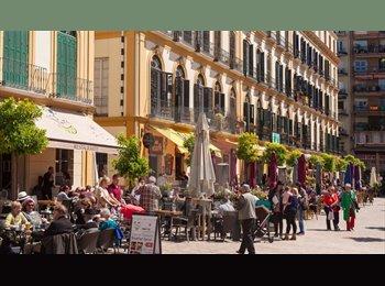 EasyPiso ES - Erasmus double room, Merced area, Malaga - 300 € por mes