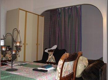 Appartager FR - Bel appart ancien meublé, clair, rénové, très bien situé, 2ème ètage., Grenoble - 580 € /Mois