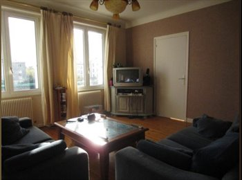 Appartager FR - Chambre meublée dans appartement de type 4, Brest - 300 € /Mois
