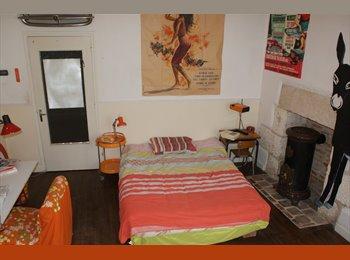 Appartager FR - chambre meubler chez l'habitant , 17 m2 , hyper centre ville ., Bourges - 350 € /Mois