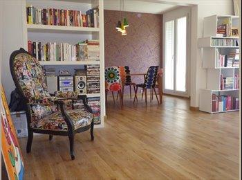 Appartager FR - Appartement DESIGN au pied du Métro GRATTE CIEL coeur toutes commodités, Villeurbanne - 350 € /Mois