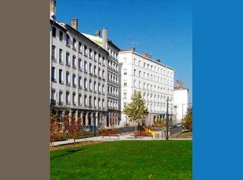 Appartager FR - Superbe chambre dans appartement rénové, Lyon - 480 € /Mois