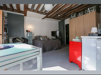 Appartager FR - Studio 27m2 colocation (locataire principal en mobilité)- disponible : 01/08, 3ème Arrondissement - 850 € /Mois