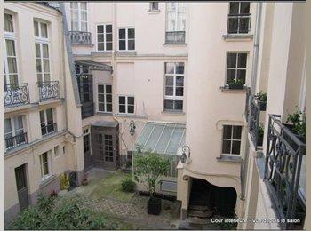 Appartager FR - Un bel appartement sur l'île Saint Louis, 4ème Arrondissement - 900 € /Mois