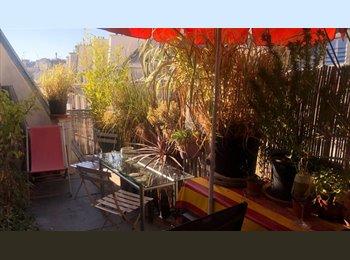 Appartager FR - grande chambre 25m2 avec terrasse 75002- , 2ème Arrondissement - 1000 € /Mois