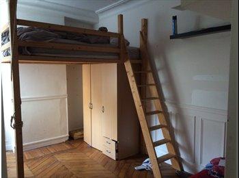 Appartager FR - colocation dans appartement lumineux avec balcon Paris 11ème, 11ème Arrondissement - 797 € /Mois