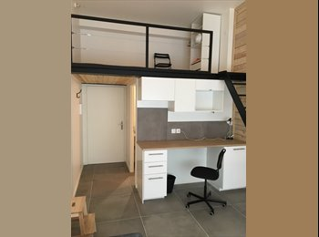 Appartager FR - Gratte-Ciel, magnifique appartement meublé 51 m², Villeurbanne - 490 € /Mois