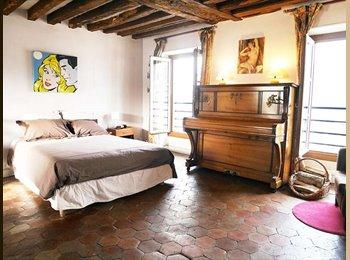 Appartager FR - Studio indépendant Ile St Louis, 4ème Arrondissement - 1500 € /Mois