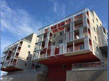 Appartager FR - Chambre de 15 m2 à louer dans un F3 de 75 m2 avec balcon, Nanterre - 700 € /Mois