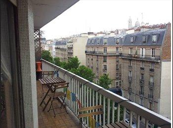 Appartager FR - Colocation 87m² à Lamarck (18e arrondissement), 18ème Arrondissement - 733 € /Mois