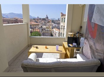 EasyStanza IT - great apartment, wonderful landscape, Palermo - € 200 al mese