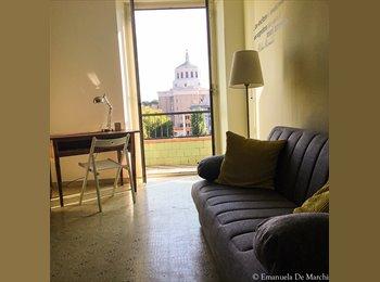 EasyStanza IT - Appartamento luminoso nei pressi dell'Università roma tre, Marconi-Ostiense - € 250 al mese