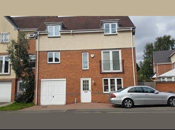 EasyRoommate UK - All Girl House Share  - Nice estate , Carrington - £370 pcm