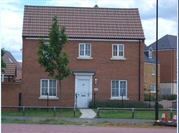 EasyRoommate UK - £300 Single room ALL INCLUSIVE in SugarWay, Close to Anglia Ruskin, Peterborough - £300 pcm