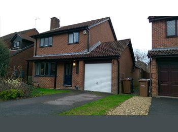 EasyRoommate UK - Spacious Double Bedroom with bills included, Eastleigh - £380 pcm