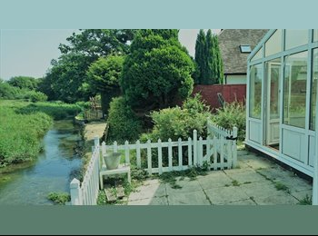 EasyRoommate UK - RIVERSIDE COTTAGE in perfect location, Eastleigh - £400 pcm