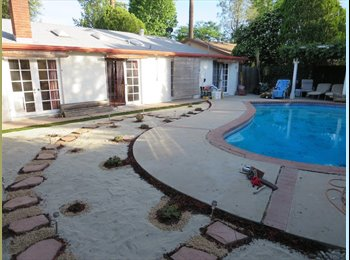 EasyRoommate US - Room for Rent in House Private Room off swimming pool $650, Warner Center - $650 pm