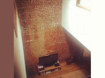 EasyRoommate US - Beautiful, HUGE, Loft. Near Park -- Room available. (Fort Greene), Fort Greene - $1,550 pm