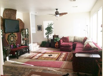 EasyRoommate US -  welcome peaceful  comfy  friendly HOME $800 move in (4bdr home N, las vegas), Los Prados - $500 pm