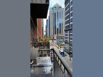 EasyRoommate US - Near West Chicago Loop Condo Room for Rent, West Loop - $1,100 pm