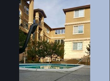 EasyRoommate US - $1395 Furnished 1Brm/1Bath + Parking in Gated Community (san jose north), Alum Rock - $1,395 pm